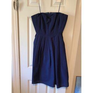 J. Crew bridesmaid dress - navy blue - size 4